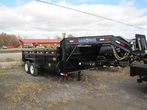 2015 Load Trail 8 TON 16ft GOOSENECK DUMP TRAILER Order Yours To