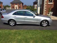 05 MERCEDES E270 CDI AVANTGARDE AUTO LEATHER P/EX WELCOME