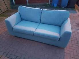 Dfs 3 seater sofa and two arm chairs
