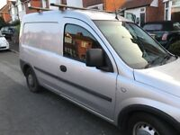 Vauxhall Combo 1.7, Diesel, 120k, 8 months MOT, Optional bed setup, Side door.