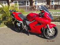 Honda VFR vtec 800 3 owners with full History 13 months MOT