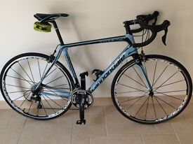Cannondale Synapse Ultegra Carbon 2015 with Mavic Kyserium Elite S wheels in Blue