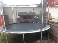 10ft Outdoor trampoline
