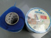 CONTEGA Plaster Sealing Tape. 1 x 15m roll and 1 half used roll. BARGAIN £20ono.