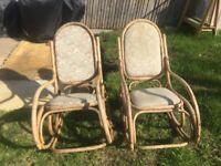 Bamboo Rocking Chairs
