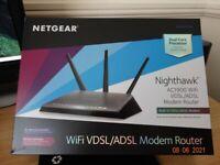 New fantastic Nighthawk modem.