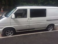 VW Transporter T4, 1998, Day camper, Rock and roll bed
