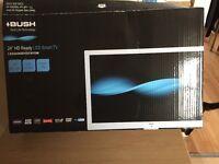 "BUSH 24"" HD READY LED SMART TV WITH DVD"