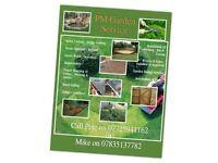PM Garden Service no job to small