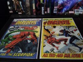 Near mint Daredevil comics for sale!
