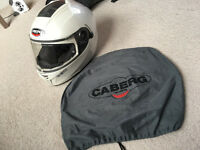 Caberg Ego White Pearl ( used by girl ) size S 55-56 , £ 85