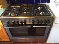 Free standing double oven, great condition, multi fuel, perfect for good home cook on a budget