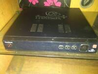 Freesat box with remote