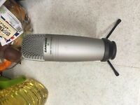 Samson C01U Studio Condenser Microphone - USB Version