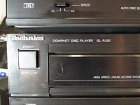 Vintage 1989 midi hi-fi stereo receiver, amp, double cassette, tuner 30W / channel Amplifier