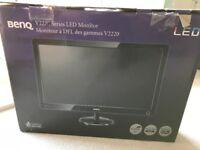 """Benq LED monitor - 21.5"""""""