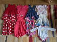 6-9 months baby girl clothes bundle