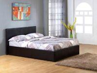 King size storage bed with luxury mattress