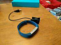 Fitbit Alta, blue large band, used
