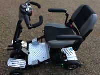 Quingo air 5 wheel Electric Mobility Scooter (fully colapsable and portable, many extras)