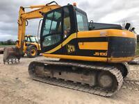 Jcb js 130 digger. excavator