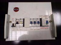 8 Way Wylex Metal Consumner Unit Including RCBO