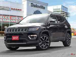 2017 Jeep Compass LIMITED | 4X4 | PANO ROOF | NAVIGATION |