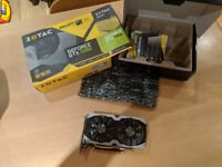 zotac gtx 1060 6gb amp edition pristine condition