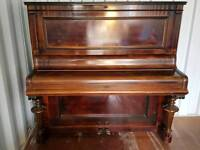Bluthner upright piano - delivery available