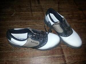 Ladies Size 7 Medium Width Golf Shoes London Ontario image 1
