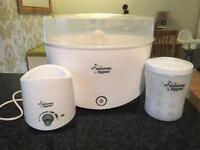 Tommee Tippee Steriliser, electric bottle warmer and travel steriliser,