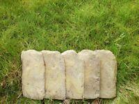 Concrete Garden Edgings