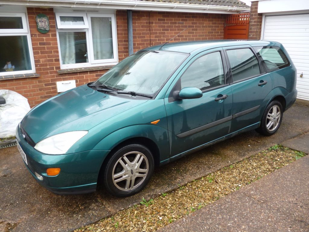 Old Ford Focus Estate For Parts Or Repair In Sidmouth