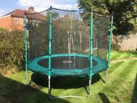 10ft TP Trampoline with surround