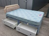 FREE DELIVERY - Double bed and mattress