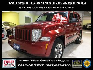 2008 Jeep Liberty SPORT 4WD | CERTIFIED |