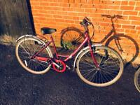 Raleigh Caprice Ladies Town Bike. Serviced, Good Condition, Free Lock, Lights, Delivery