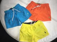 Boys ralph lauren swim shorts