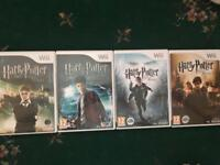 Harry Potter Wii Games