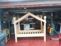 bespoke solid single bed
