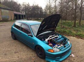 Honda Civic eg b16