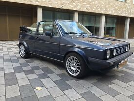 Classic LHD Golf MK1 Convertible, Registered Holland.