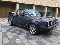 Classic LHD Golf MK1 Convertible, Registered Holland.