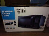 Microwave samsung smart oven