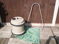 40 ltr AQUAROLL WATER ROLLER WITH BAG AND HANDLE