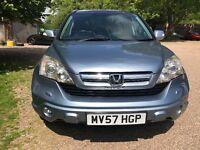 £ 3999 [57 ] 2007 Honda Cr-V 2.2 I-CTDI EXECUTIVE 5dr SAT NAV - LEATHER - CRUISE