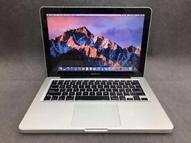AS NEW MACBOOK PRO 13 INCH 3.0GHZ i5, 4-16GB DDR3 RAM, 500gb, OFFICE 2016, ADOBE CS6