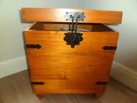 Lovely solid wood storage chest