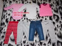 baby girl clothes 12-18m