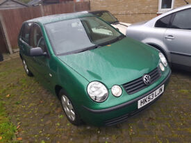 VW Polo Twist 1.4, 2003, 27k, Mot, 2 Keys, Service History, Hpi Clear & 3 Month Warranty £2495